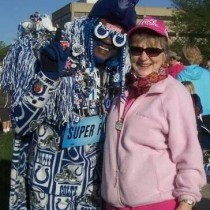 Mom & Colts Fan