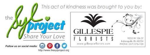 Gillespie Florists Tag